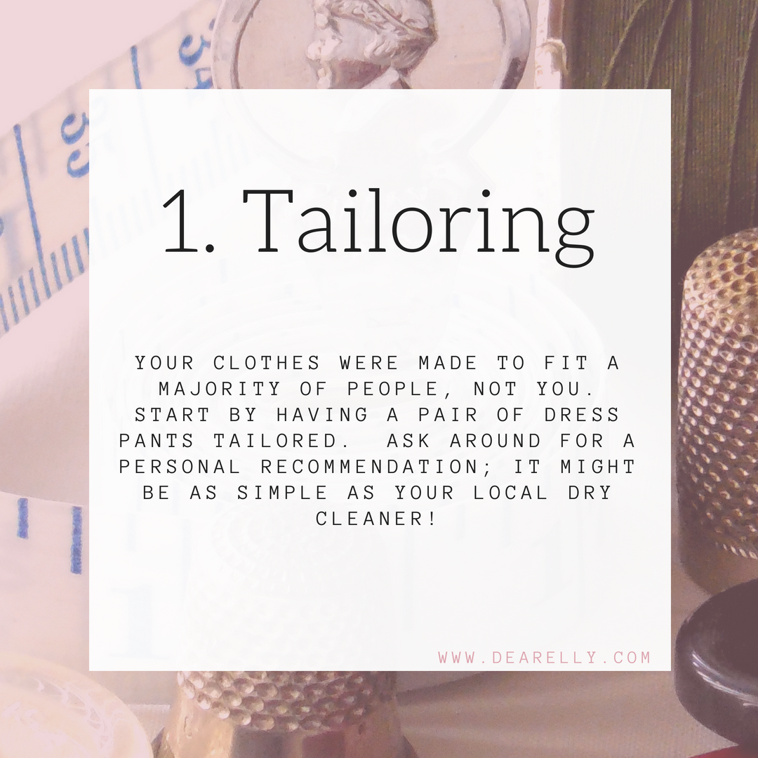 Tailoring Your Clothes For Work