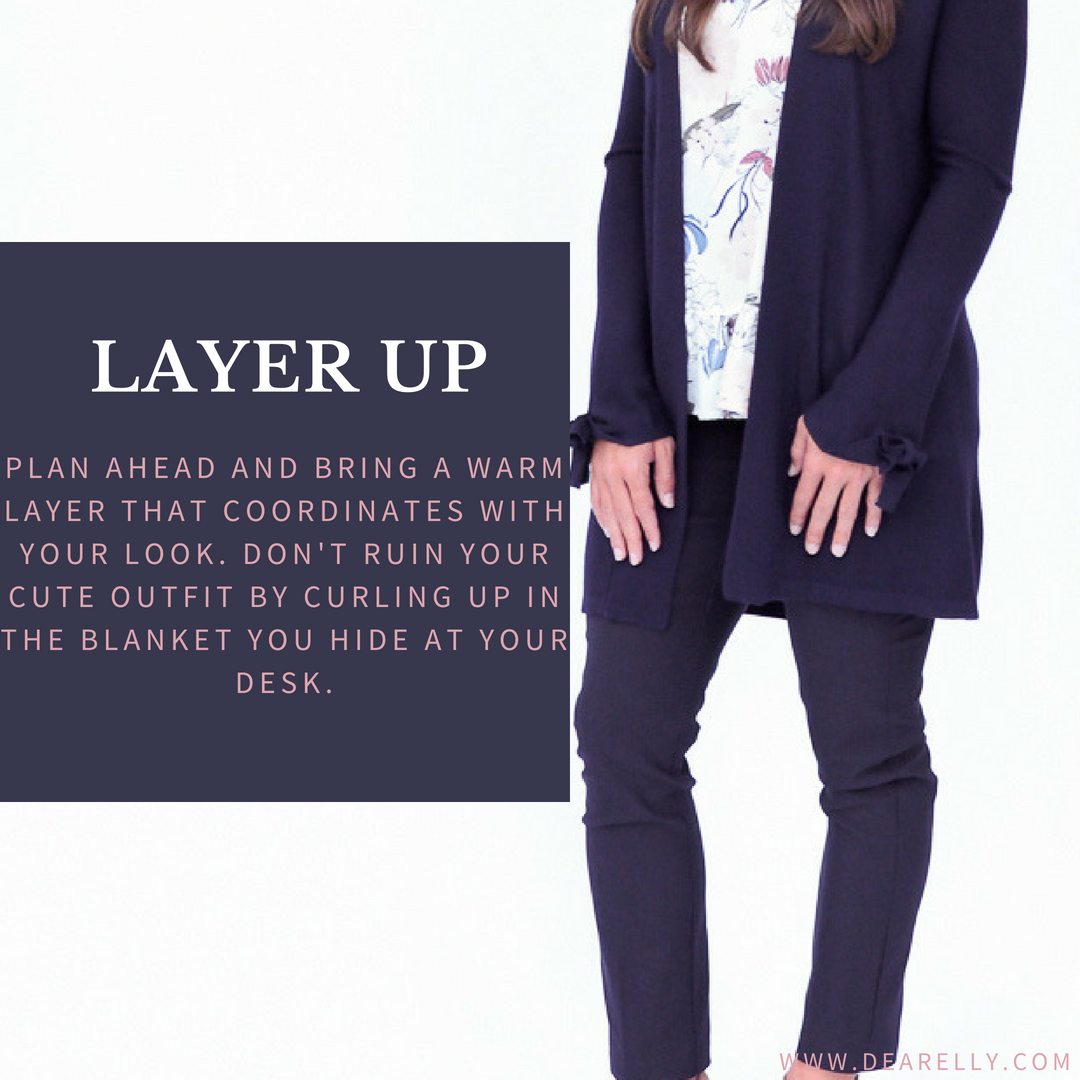 Layering Pieces for Business Casual Dress Code